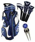 Ray Cook Golf- US Military Cart Bag/Divot Tool/3 Head Cover Set
