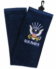 Ray Cook Golf- US Navy Military Tri Fold Towel