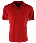Reebok- Play Dry 1/4 Zip Polo