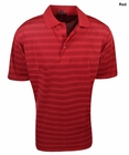 Rivers End- Jacquard Striped Polo