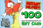 Rock Bottom Golf.com $100 E-Gift Card!