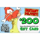 Rock Bottom Golf.com $200 E-Gift Card!