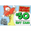 Rock Bottom Golf.com $50 E-Gift Card!