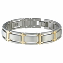 Sabona- Executive Symmetry Silver Magnetic Bracelet