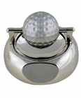 Silver Golf Ball Paper Clip Holder