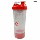 Spider Bottle- 2Go Shaker Bottle Clear Cup 16oz