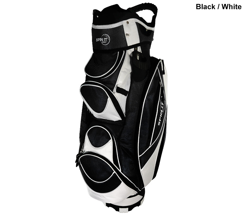 Spin It Cg9511 Cart Bag By Spin It Golf Golf Cart Bags