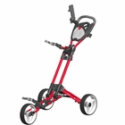 Spin It Golf- GCPro II Easy Fold Push Golf Cart *Closeout Colors*