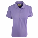 Sport Haley- Ladies Textured Qwickool Golf Polo
