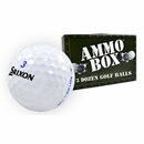 Srixon Golf- Assorted Mix of Used Golf Balls *3-Dozen* Ammo Box