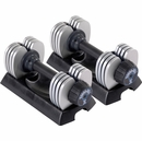 Stamina® - 50 lb Versa-Bell® II Adjustable Dumbbell Pair