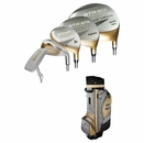 Strata Golf- Ladies Strata Plus 16 Piece Complete Set With Bag Graphite