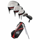 Strata Golf- LH Strata 13 Piece Complete Set With Bag Graph/Steel (Left Handed)