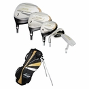 Strata Golf- LH Strata Plus 18 Piece Complete Set With Bag Graphite/Steel (Left Handed)