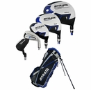 Strata Golf- LH Strata Plus Complete Set With Bag Graph/Steel (Left Handed)
