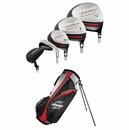 Strata Golf- Strata 13 Piece Complete Set With Bag Graphite/Steel