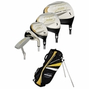 Strata Golf- Strata Plus Complete Set With Bag Graphite/Steel