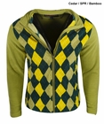 Sun Mountain Golf- Ladies Argyle Fleece Jacket