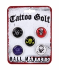 Tattoo Golf- Ball Marker Combo Pack