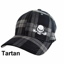 Tattoo Golf- FlexFit Plaid Hat