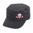 Tattoo Golf - Red Skull Military Style Golf Hat