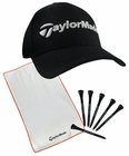 Taylor Made Golf- Pro Pack Cap, Towel & Tee Set