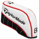 Taylor Made Golf White Iron Set Head Covers 8-Piece Set