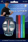 Technasonic- Golf Ball Liner w/ 4 Pens