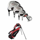 Tiger Shark Golf- LH Hammerhead Complete Set With Bag (Left Handed)