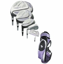 Tiger Shark Golf- LH Ladies LadyShark Complete Set w/Bag (Left Handed)