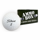 Titleist Golf- Assorted Mix Used Golf Balls *3-Dozen* Ammo Box