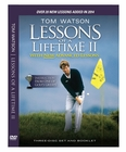 Tom Watson Lessons of a Lifetime II Golf Training DVD (3-DISC)