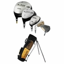 Top-Flite Golf- LH Advance Complete Set With Bag Graphite/Steel (Left Handed)