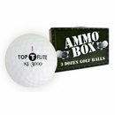 Top Flite Golf- XL 3000 Mint Used/Recycled Ammo Box Golf Balls *3-Dozen*