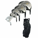 Tour Edge Golf Bazooka HT Max-D Complete Set With Bag Graph/Steel