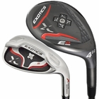 Tour Edge Golf- Exotics E8 Combo Irons Graph/Steel