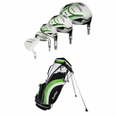 Tour Edge Golf- HP20 Complete Set With Bag Graph/Steel