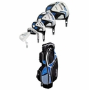 Tour Edge Golf- HP11 Senior Complete Set With Bag Graphite