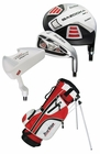 Tour Edge Golf HT Max-J 2x1 Junior Boys Set With Bag Ages 3-5