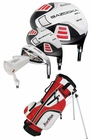 Tour Edge Golf HT Max-J 4x1 Junior Boys Set With Bag Ages 5-8