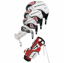 Tour Edge Golf HT Max-J 5x2 Junior Boys Set With Bag Ages 9-12