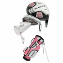 Tour Edge Golf- HT Max-J Junior Girls Set With Bag Ages 3-5