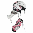 Tour Edge Golf HT Max-J 4x1 Junior Girls Set With Bag Ages 5-8