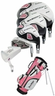 Tour Edge Golf HT Max-J 5x2 Junior Girls Set With Bag Ages 9-12