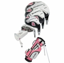 Tour Edge Golf- HT Max-J Junior Girls Set With Bag Ages 9-12