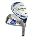 Tour Edge Golf- Ladies Bazooka HT Max 2x6 Hybrid Irons Graphite