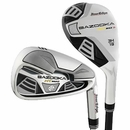 Tour Edge Golf- Ladies Bazooka HT Max D 2x6 Hybrid Irons #4/5, 6-PW/SW Graphite