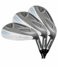 Tour Edge Golf- Ladies Bazooka Platinum All Hybrid Irons Graphite
