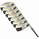 Tour Edge Golf - Ladies J-Max Gold Hybrid Irons 4-PW Graphite