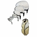 Tour Edge Golf- Ladies Moda Silk Complete Set With Bag